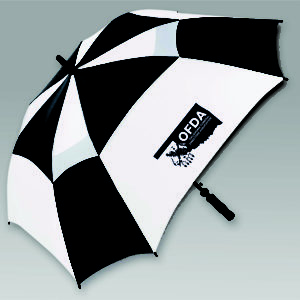 "62"" Vented Square Golf Umbrella"
